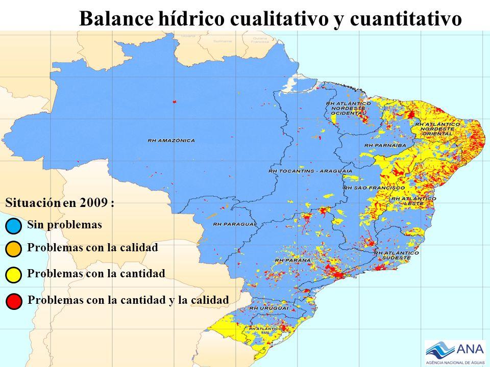 Balance hídrico cualitativo y cuantitativo
