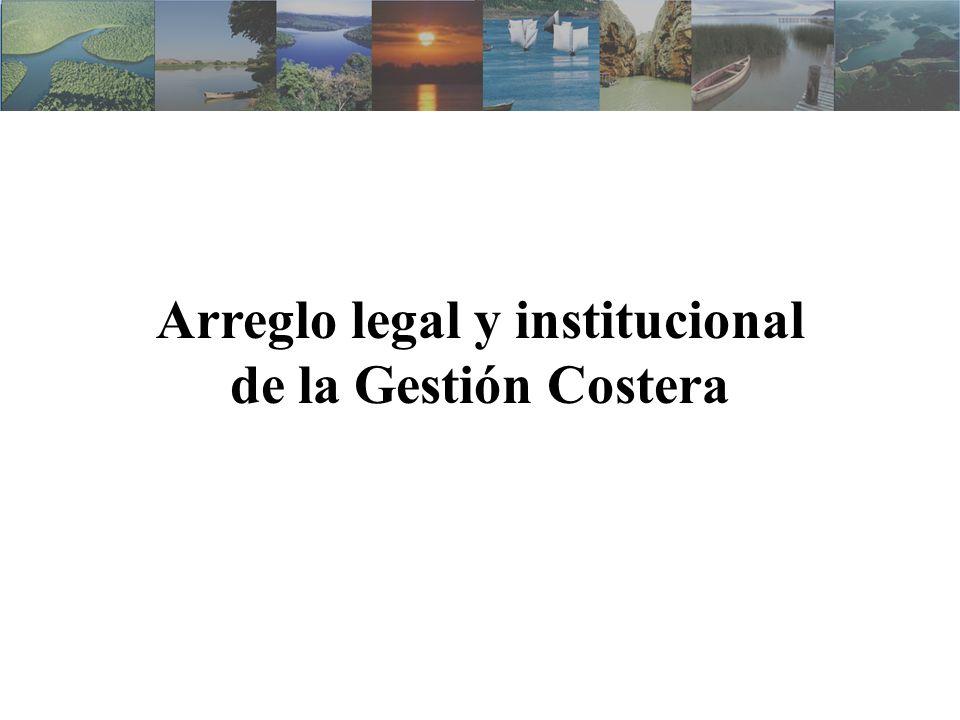 Arreglo legal y institucional