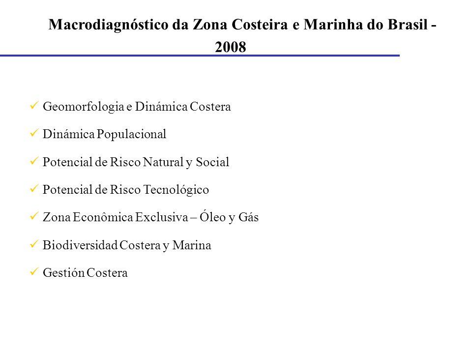 Macrodiagnóstico da Zona Costeira e Marinha do Brasil - 2008