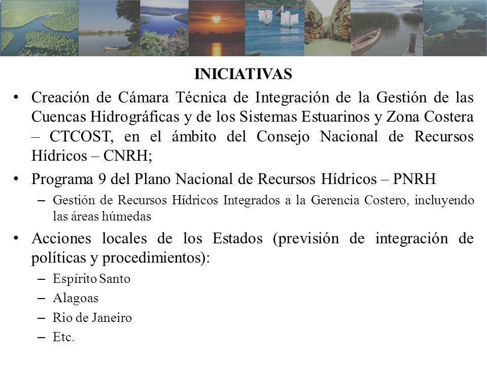 Programa 9 del Plano Nacional de Recursos Hídricos – PNRH