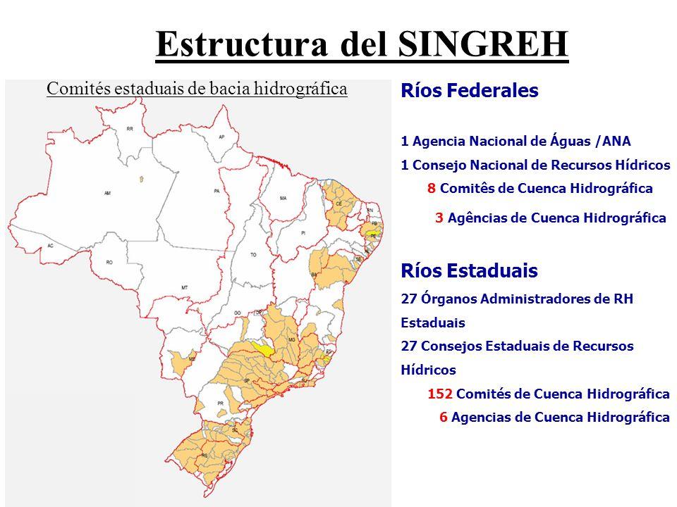 Estructura del SINGREH