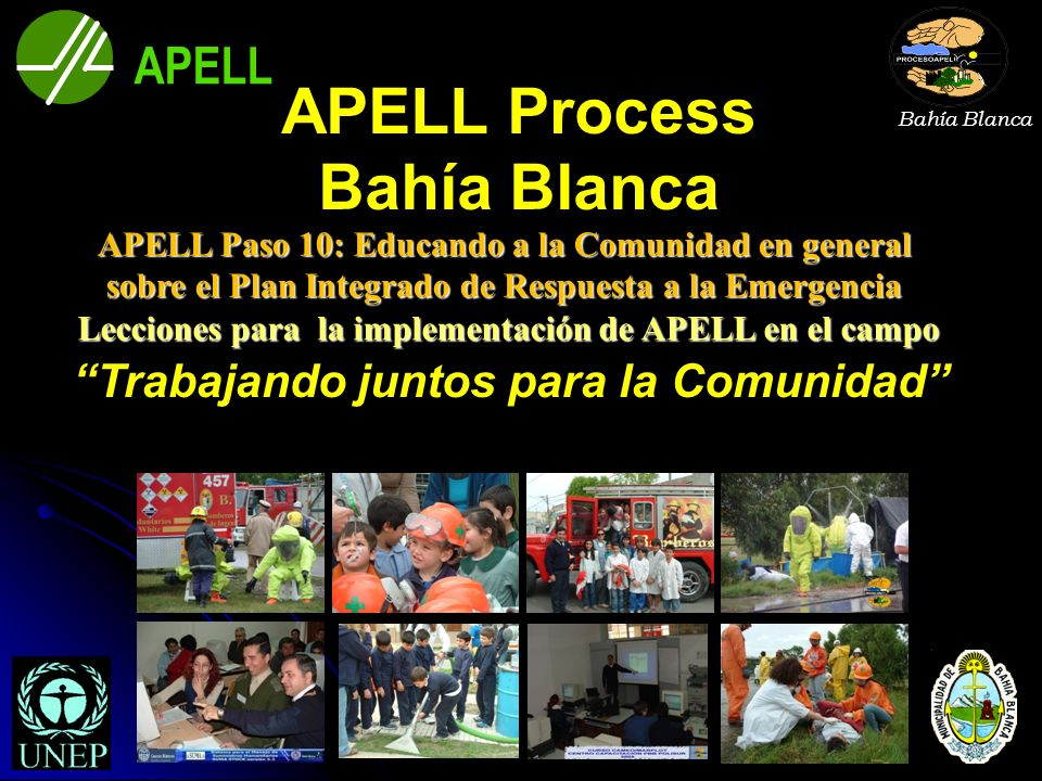 APELL Process Bahía Blanca
