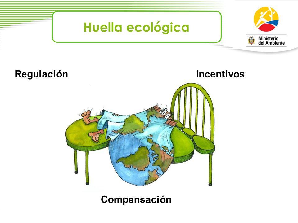 Huella ecológica Regulación Incentivos Compensación