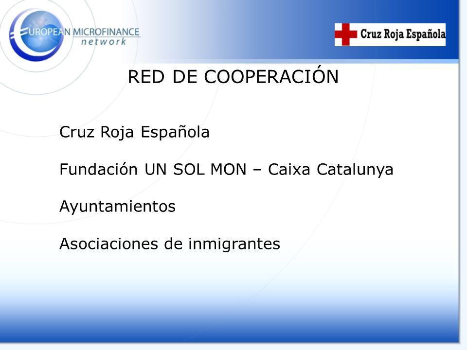 RED DE COOPERACIÓN Cruz Roja Española