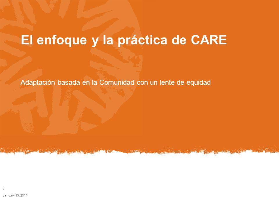 El enfoque y la práctica de CARE