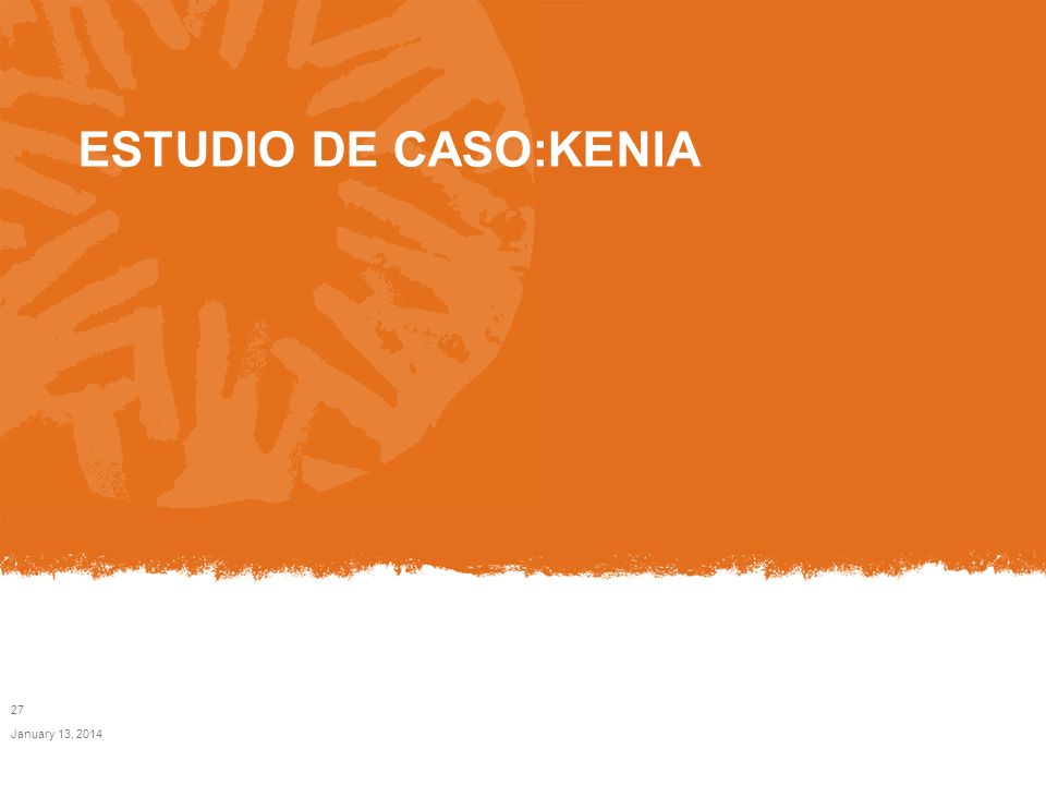 ESTUDIO DE CASO:KENIA March 24, 2017