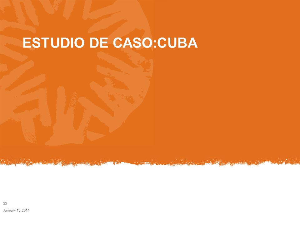 ESTUDIO DE CASO:CUBA March 24, 2017