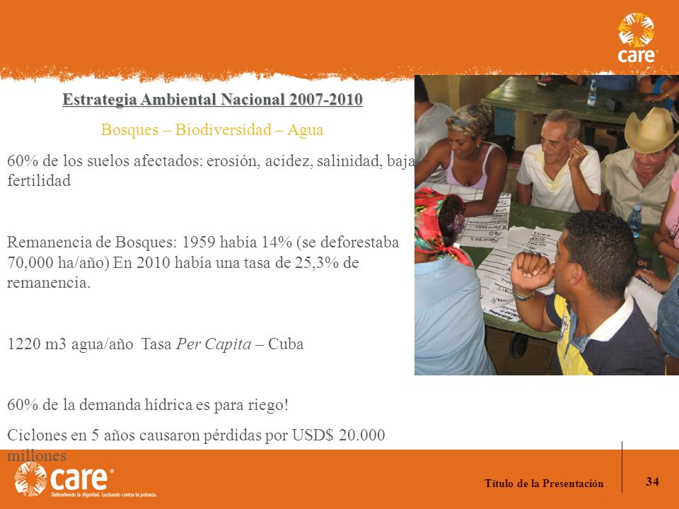 Estrategia Ambiental Nacional 2007-2010