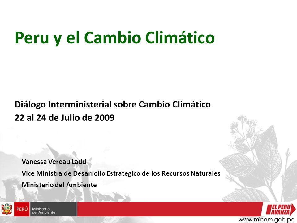 Peru y el Cambio Climático
