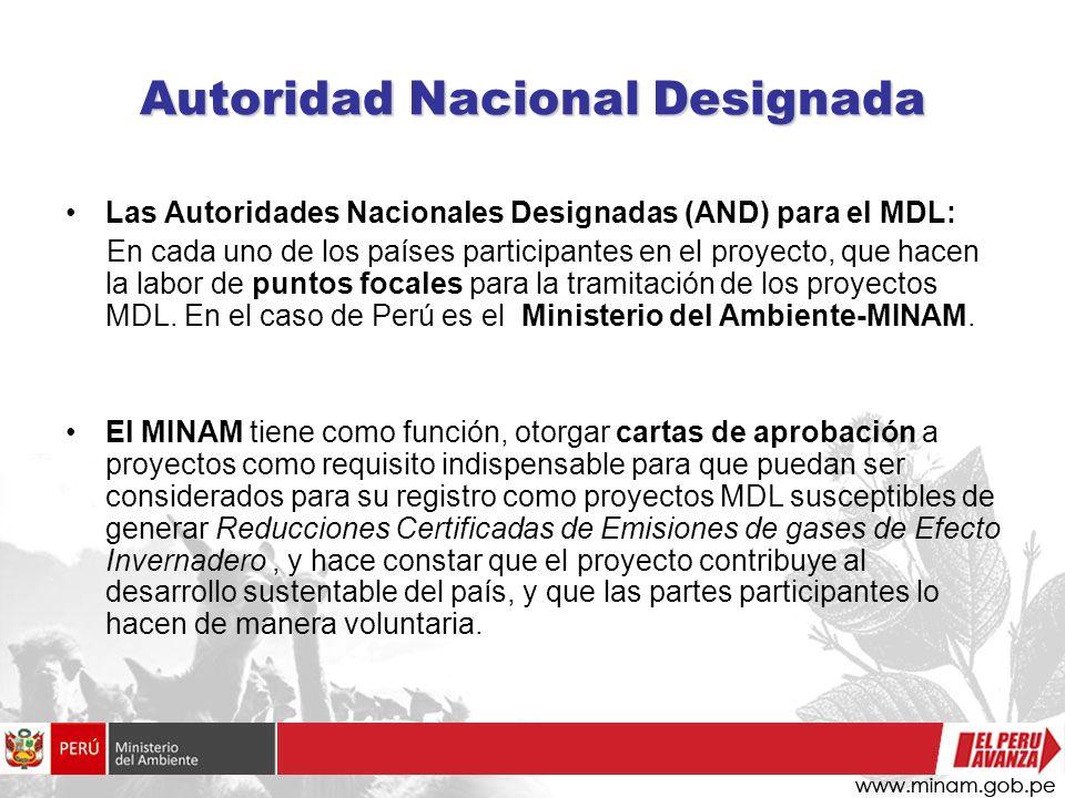 Autoridad Nacional Designada