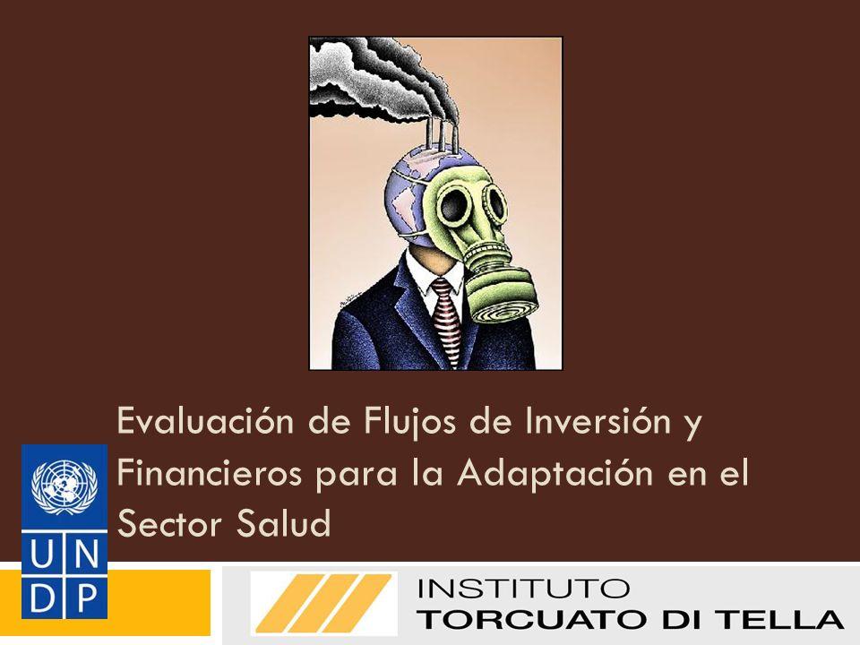 Evaluación de Flujos de Inversión y Financieros para la Adaptación en el Sector Salud