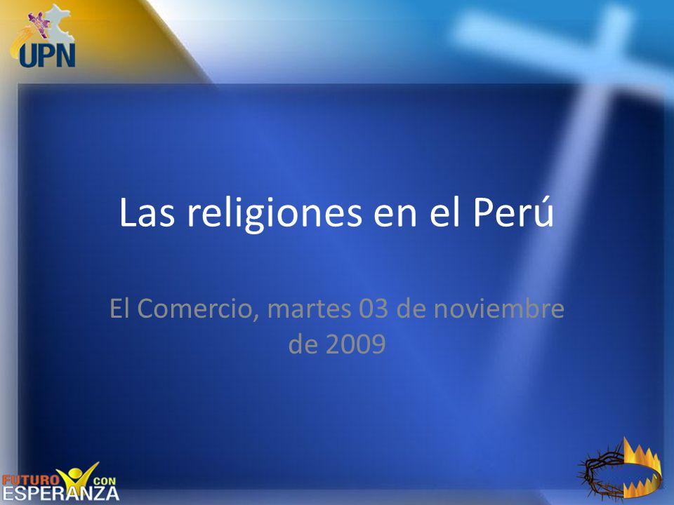 Las religiones en el Perú