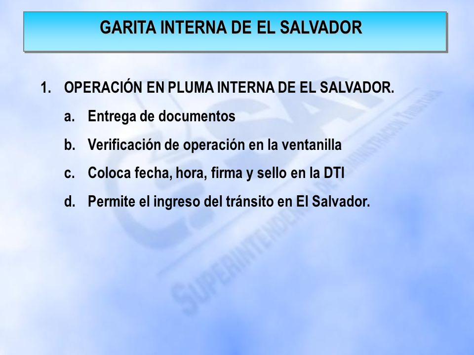 GARITA INTERNA DE EL SALVADOR