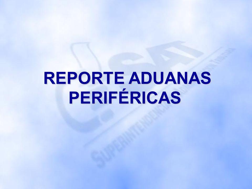 REPORTE ADUANAS PERIFÉRICAS