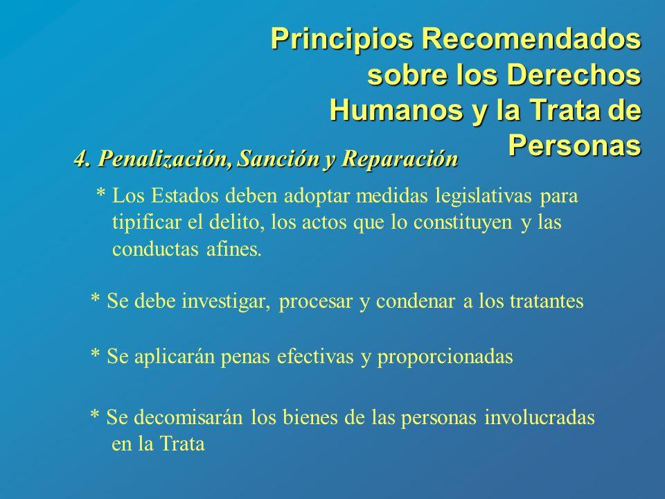 Principios Recomendados sobre los Derechos Humanos y la Trata de Personas