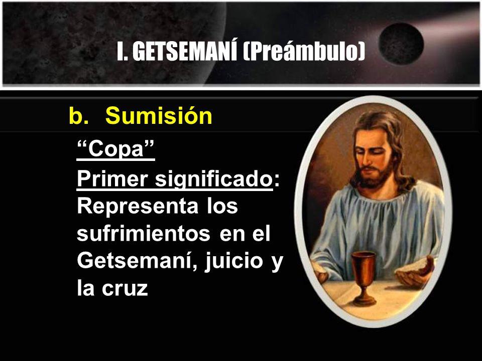 I. GETSEMANÍ (Preámbulo)