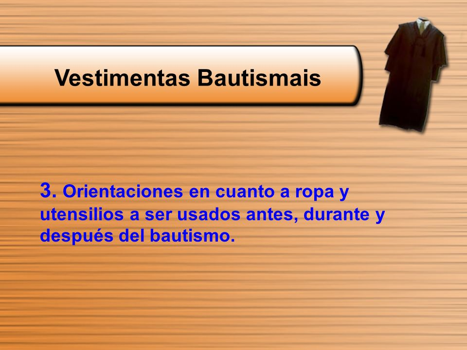 Vestimentas Bautismais