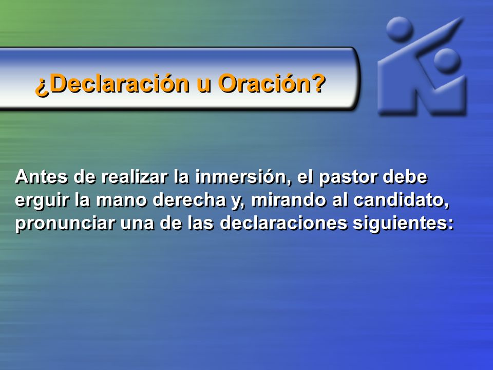 ¿Declaración u Oración