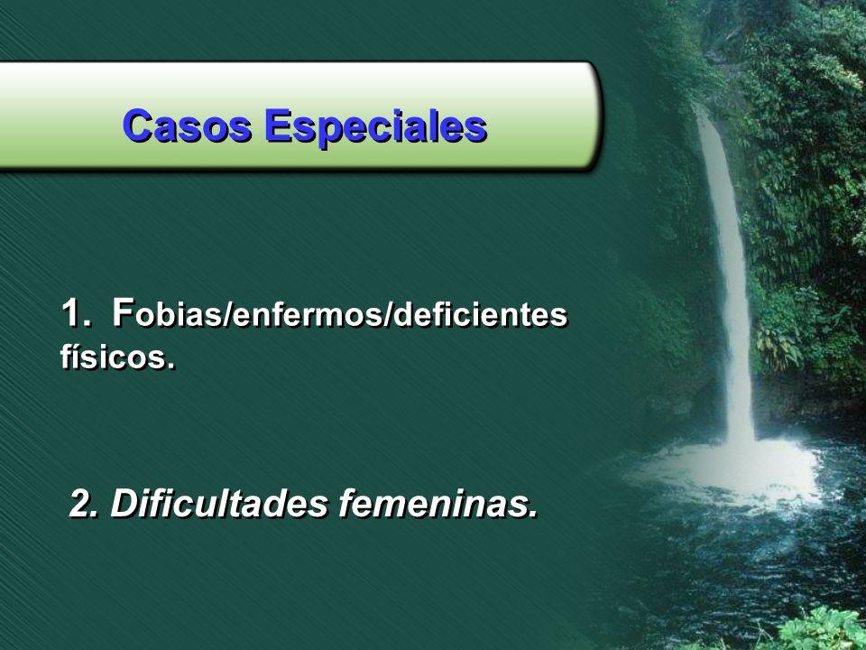 Casos Especiales Fobias/enfermos/deficientes