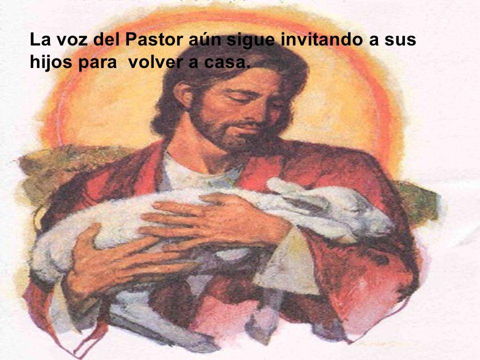 La voz del Pastor aún sigue invitando a sus hijos para volver a casa.