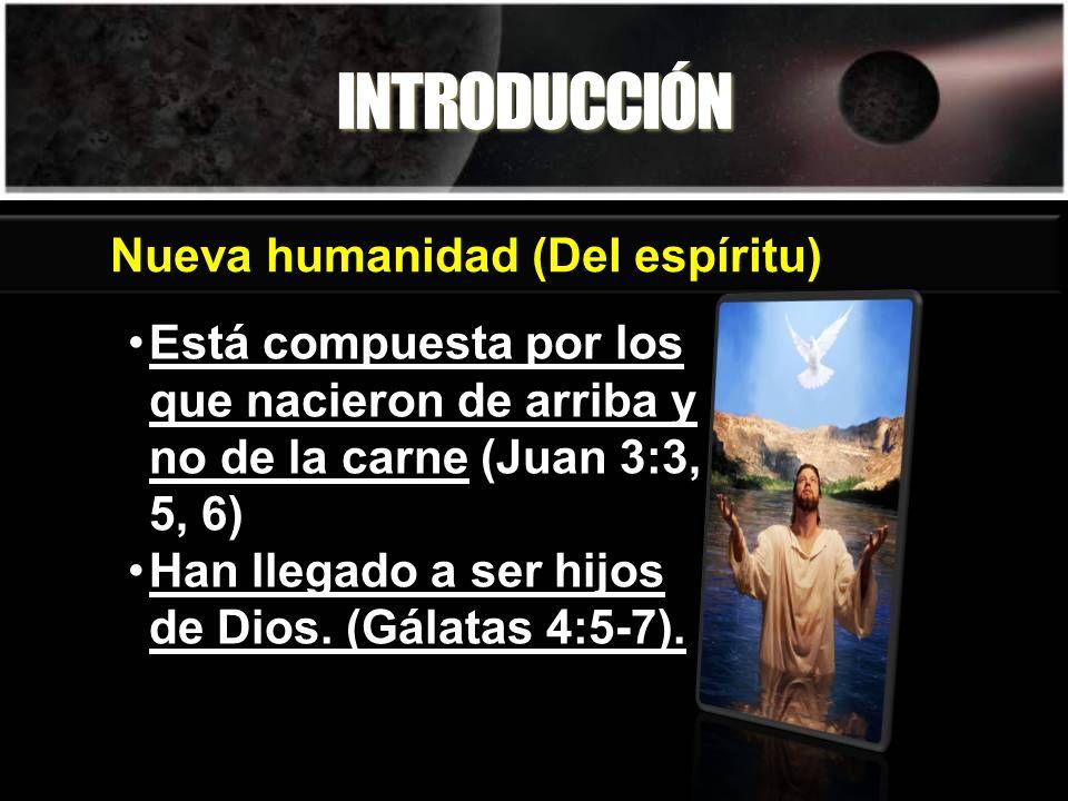 INTRODUCCIÓN Nueva humanidad (Del espíritu)