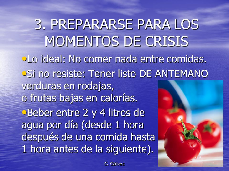 3. PREPARARSE PARA LOS MOMENTOS DE CRISIS