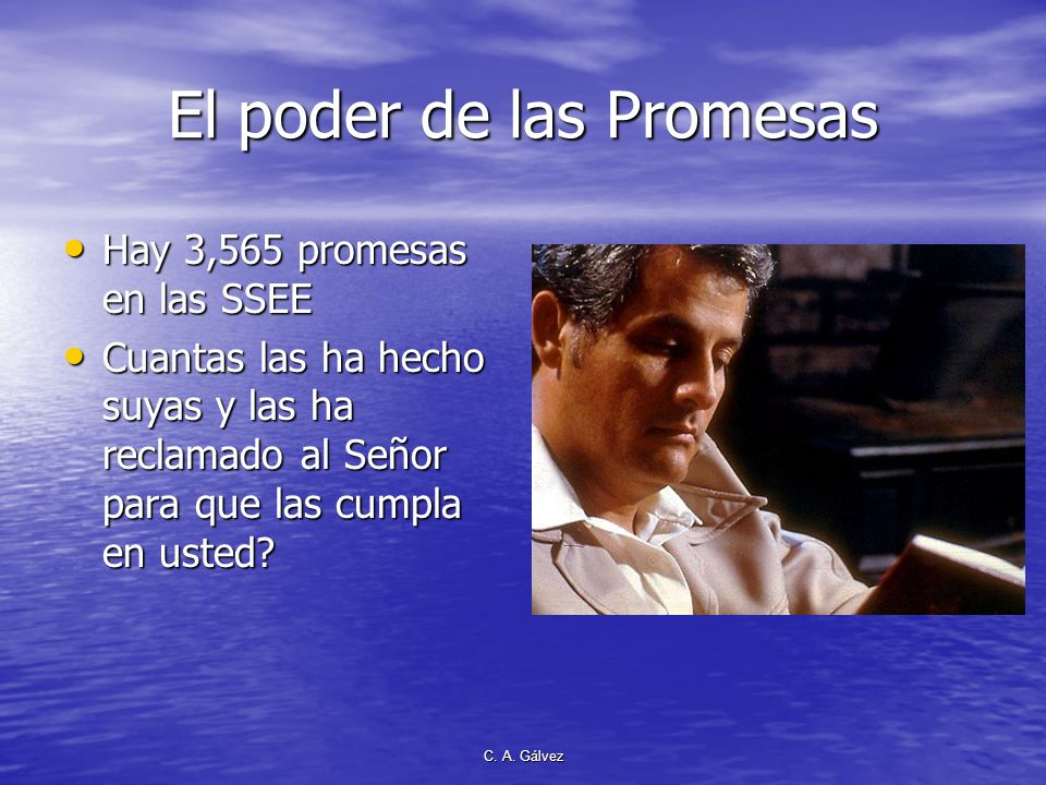 El poder de las Promesas