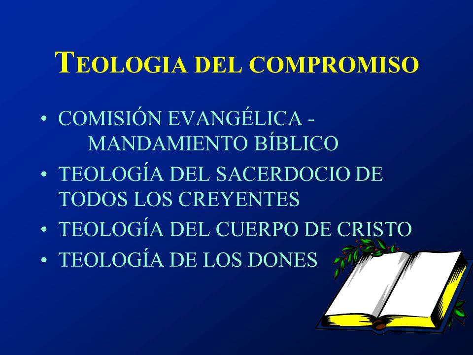 TEOLOGIA DEL COMPROMISO