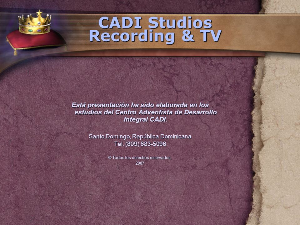 CADI Studios Recording & TV