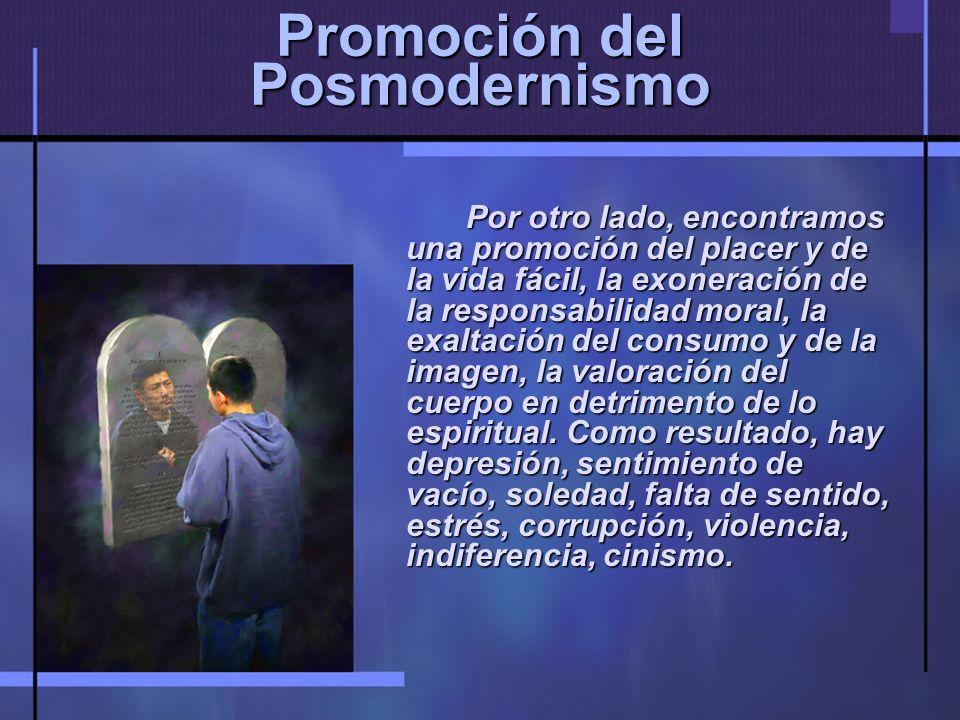 Promoción del Posmodernismo