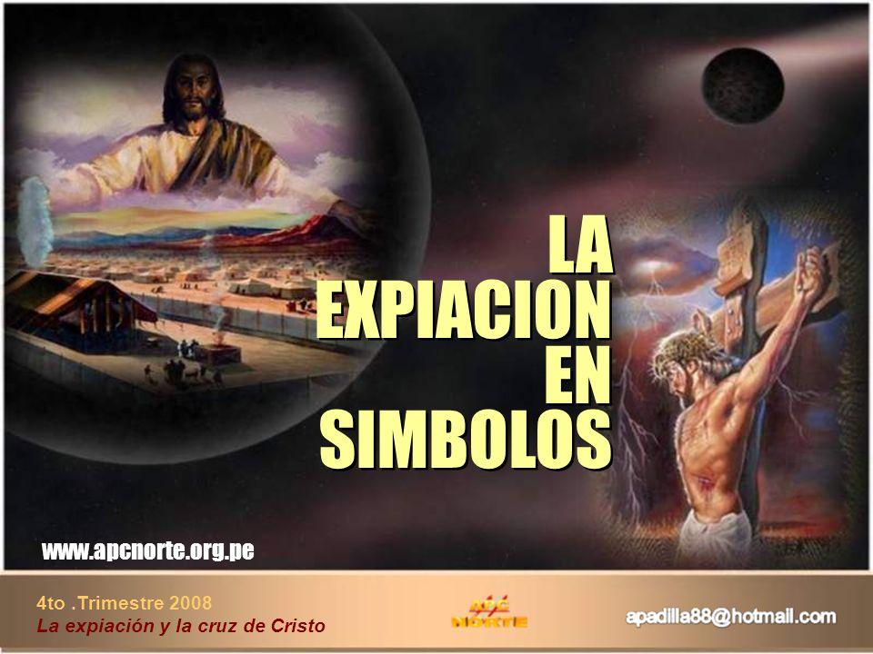 LA EXPIACION EN SIMBOLOS