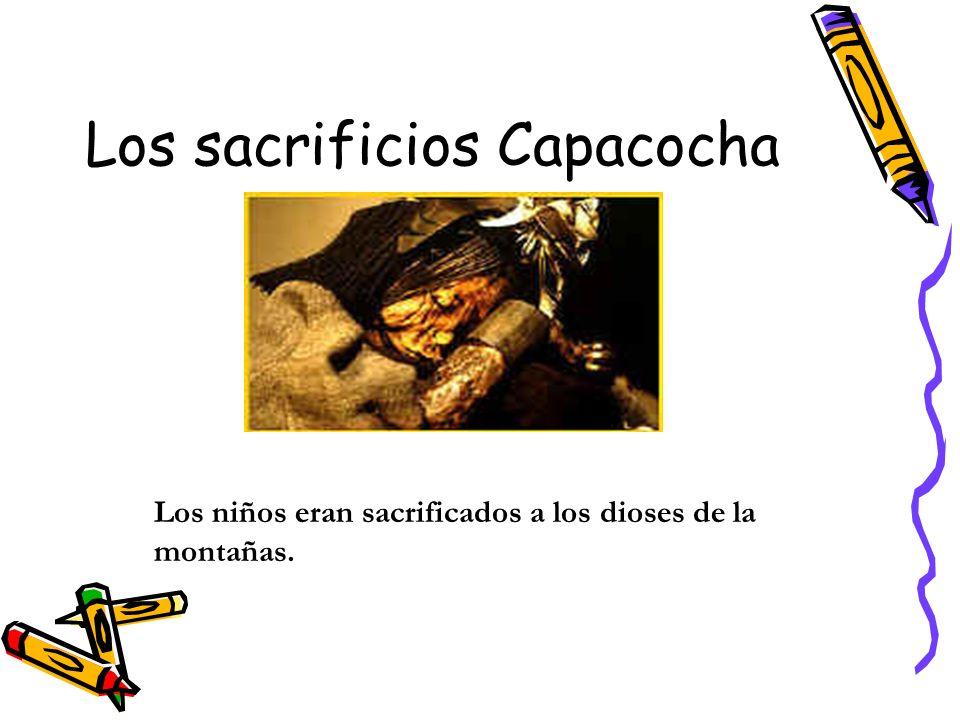 Los sacrificios Capacocha