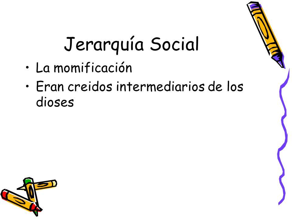 Jerarquía Social La momificación