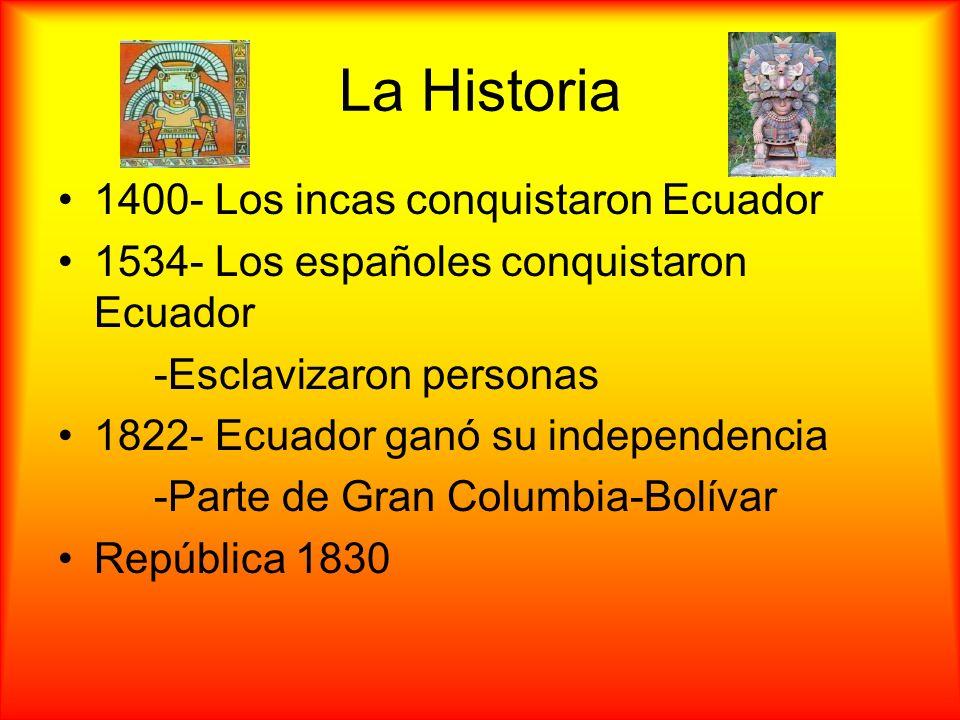 La Historia 1400- Los incas conquistaron Ecuador