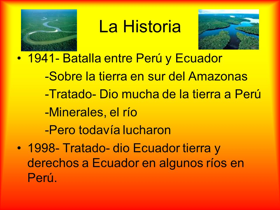 La Historia 1941- Batalla entre Perú y Ecuador