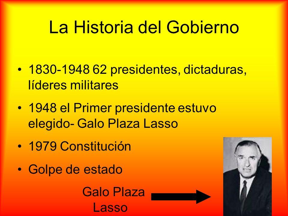 La Historia del Gobierno