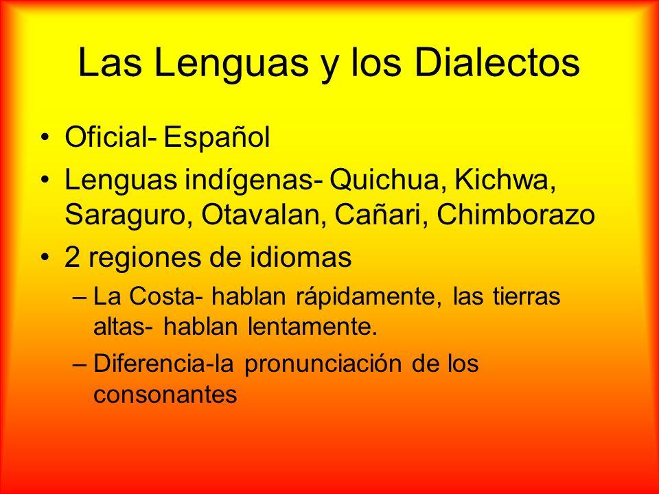 Las Lenguas y los Dialectos