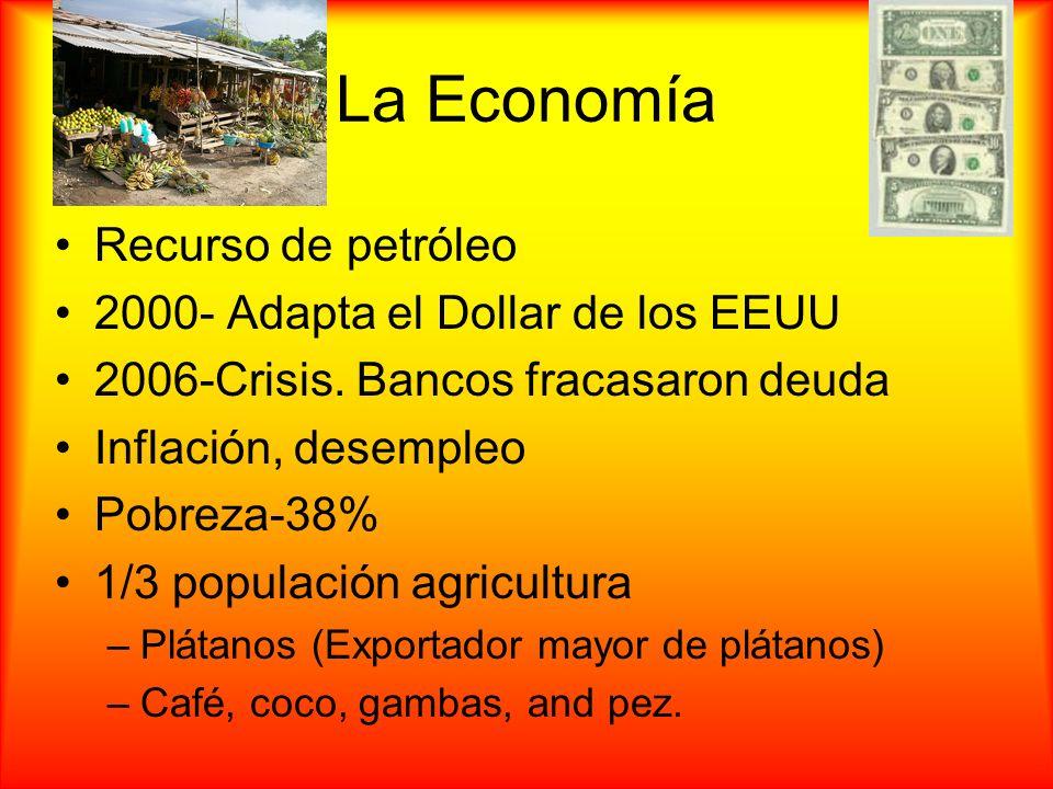 La Economía Recurso de petróleo 2000- Adapta el Dollar de los EEUU