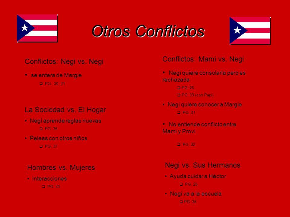 Otros Conflictos Conflictos: Mami vs. Negi Conflictos: Negi vs. Negi