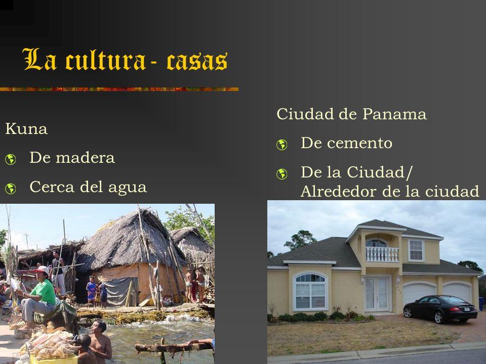 La cultura- casas Ciudad de Panama De cemento