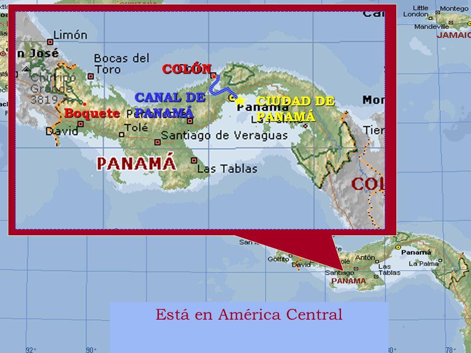 Está en América Central