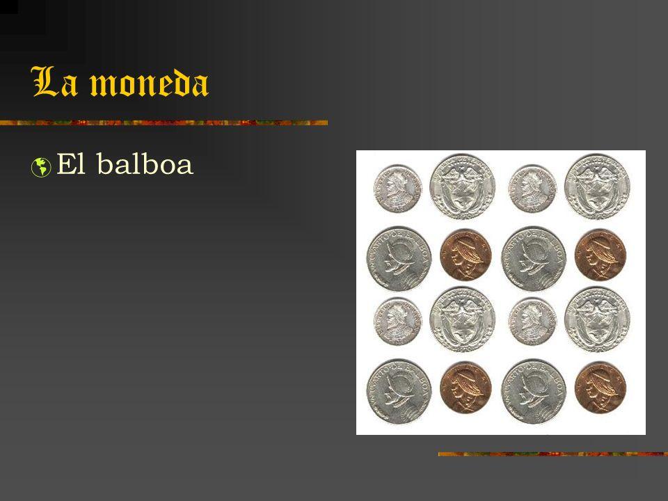 La moneda El balboa el tipo de cambio es 1:1 con el dólar de los EE.UU..