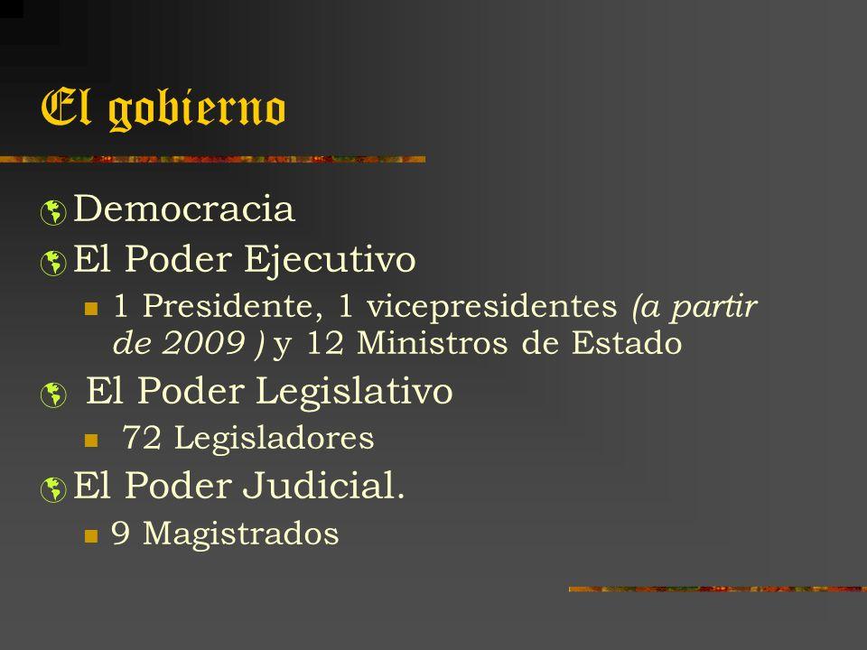El gobierno Democracia El Poder Ejecutivo El Poder Legislativo