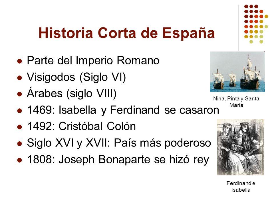 Historia Corta de España