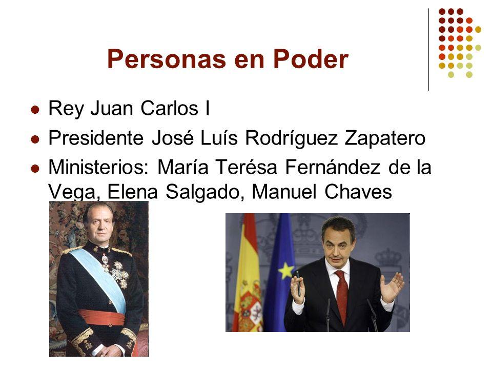 Personas en Poder Rey Juan Carlos I