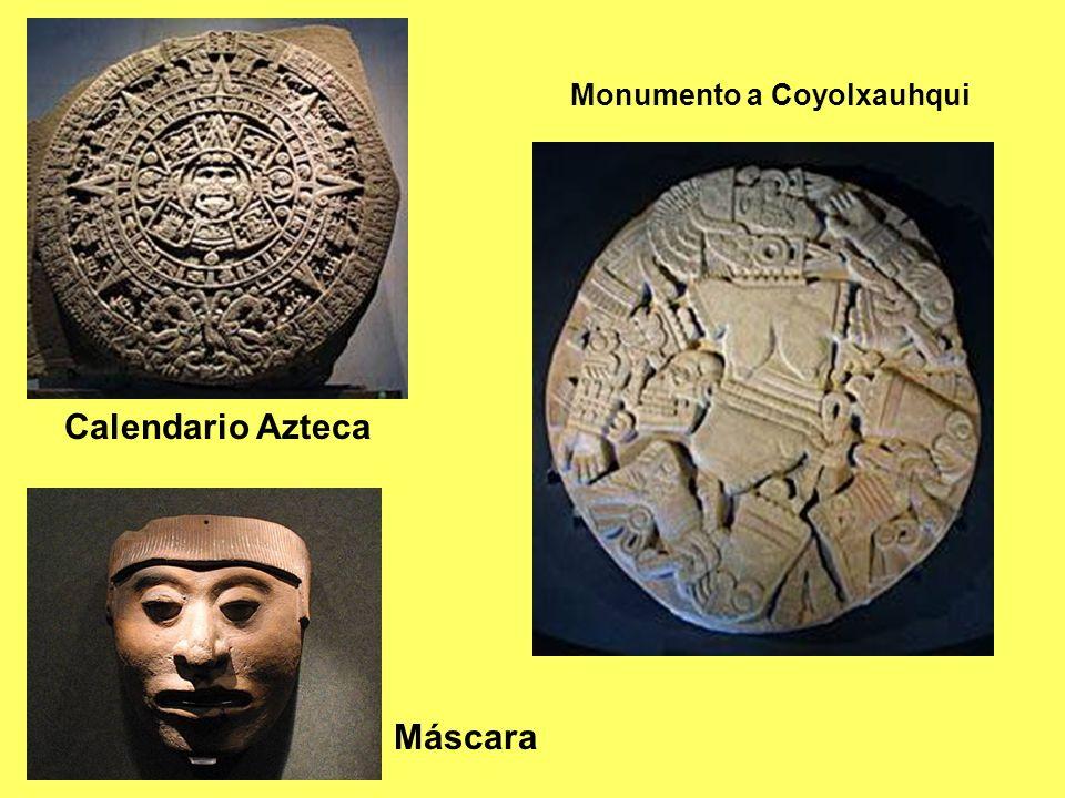 Calendario Azteca Máscara