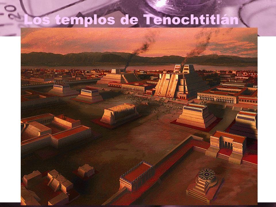 Los templos de Tenochtitlán