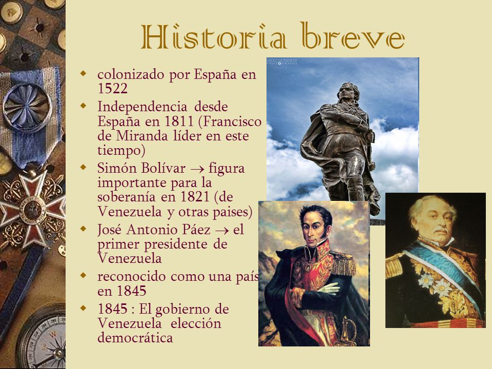 Historia breve colonizado por España en 1522