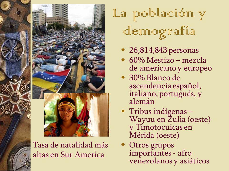 La población y demografía