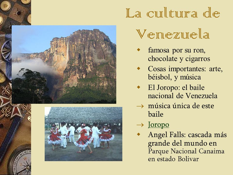 La cultura de Venezuela